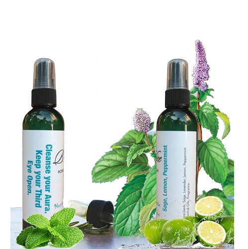 Home and Room Spray Sage Lemon and Peppermint