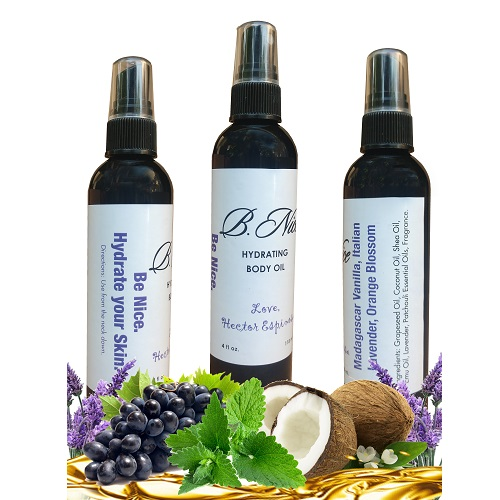 Nourishing Fragrant Body Oil Madagascar Vanilla Italian Lavender Orange Blossom